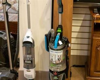 Bissell Pet Hair Eraser & Shark Navigator