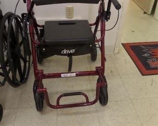 Walkers, Wheelchairs - like new!