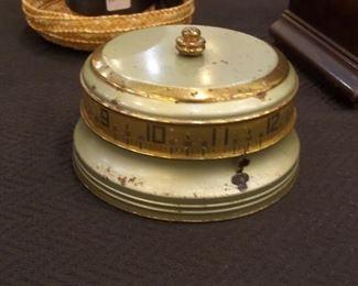 Lux Tape Measure vintage clock - works!