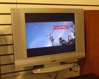 """Emerson 20"""" LCD TV with built in DVD."""