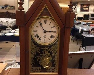 Vintage steeple clock works great!