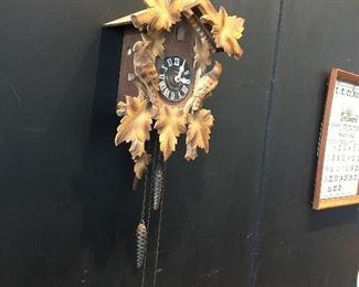 Vintage Cuckoo Clock working!