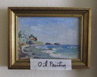 Oil Painting of East Coast?