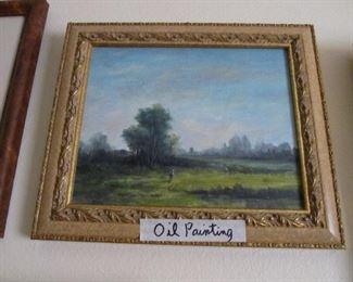 Atmospheric Impressionism Oil Painting