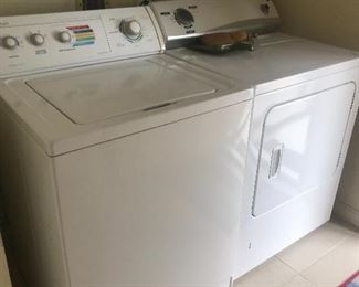 Perfect working washer & dryer