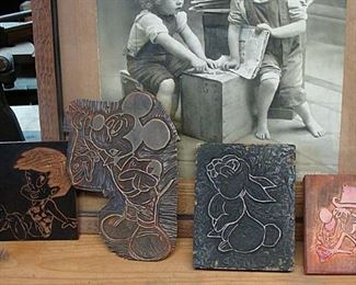 old linocuts