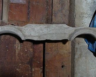 hand carved oxen yoke!