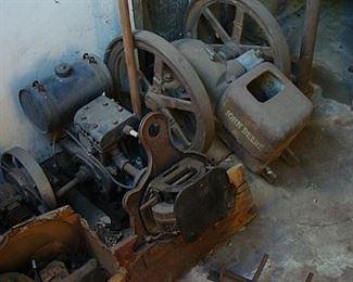 old small motors