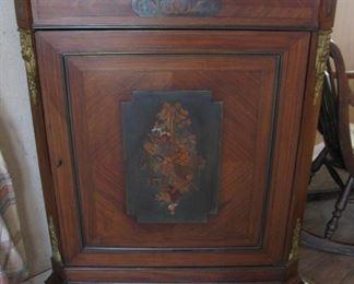 1920s Corner Cabinet Claw Feet