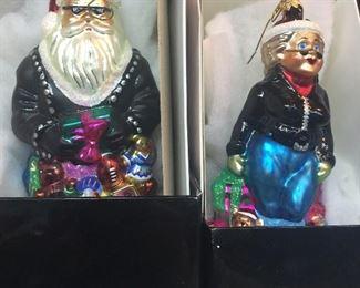 Radko ornaments biker