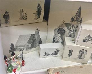 Christmas Village sold at Dillard's