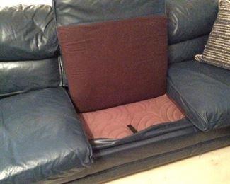sofa has a bed
