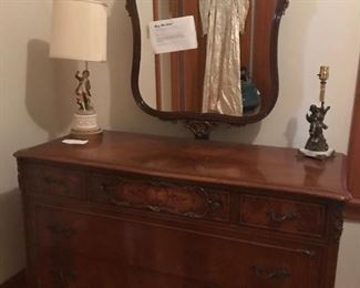 1950's Dresser and Mirror Buy now $100