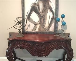Spectacular Foyer Table!