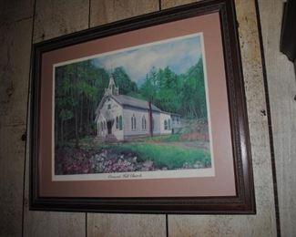 Crescent Hill Church print