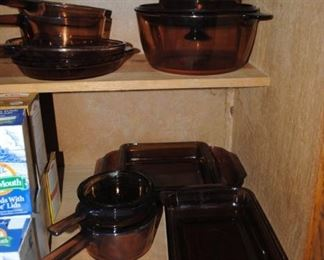 Pyrex Visions cook ware