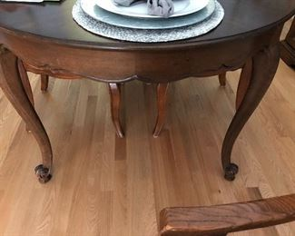 Cherry Wood dining table, Marshall Fields