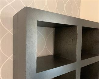 Custom Metal Cubicle Shelf #1