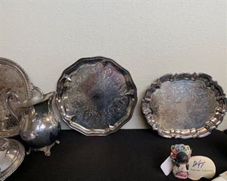 Silverplate & some Sterling (Weighted )