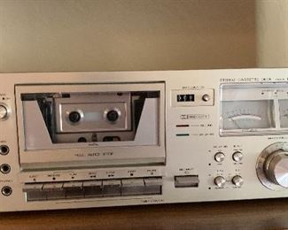Sanyo RD-5350 Cassette Deck Tape Player