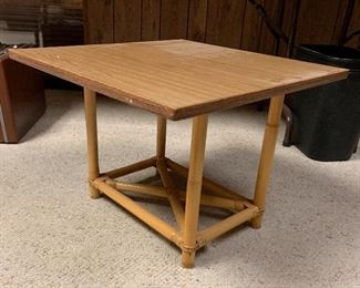 Cane End Table