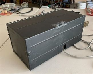 WWII BC-348 Aircraft Receiver Converted to AC