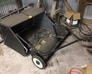 Agri-Fab lawn rake for those grass clippings