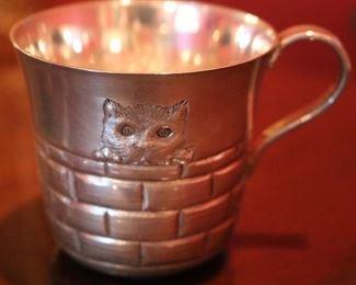 Rare Tiffany & Co. Sterling Silver Cup