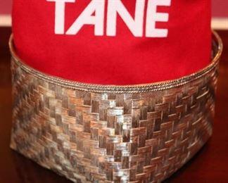 Large Tane Sterling Silver Basket