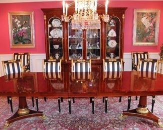 Loads of fine furnishings and accoutrements; from 18th century Italian and French to custom-contemporary