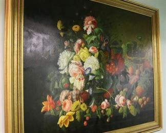 """Dutch-style still life, signed """"L. Jenkins"""""""