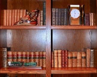 18th, 19th, & 20th century vintage books; some series included.