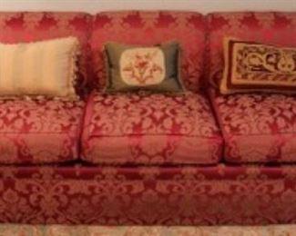 Custom upholstered Kravit sofa
