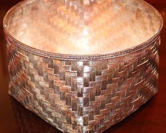 Tane Sterling Silver Basket