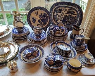 English export porcelain/transferware