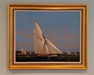 Vernon George Broe, Oil on canvas