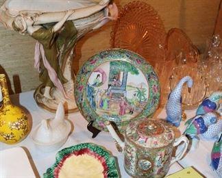 Royal Dux, Majolica, Asian Porcelain, Limoges Box