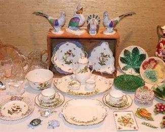 Herend, Majolica, Venetian Glass, Katherine Houston