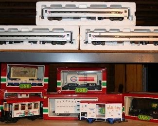 LGB & Lionel Trains