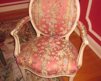8 ~ E. J. Victor Regency Dining Room Chairs