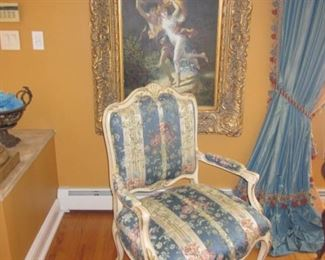 Listed Art Oils     Louis XV Seating