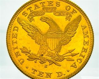 1901 S $10 Gold Coin - Higher Grade