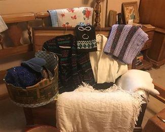 Linenes, Hope Chest, Hardrock Maple bedroom set