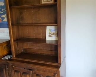 """Chest with Book Shelf 34"""" W x 17"""" D x 79"""" T"""