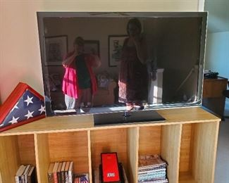 """Matching Book Shelves, This one being used as TV Stand 30"""" W x 16"""" D x 72"""" T"""