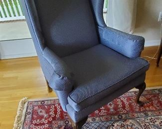 """Matching Ethan Allen Wing back Chairs 31"""" W x 33"""" D x 43.5"""" T"""
