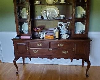 "Beautiful Ethan Allen Traditional China Closet 66"" W x 20"" D x 79.5"" T"