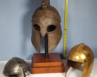Armour Helmet Replicas, perfect for reenactment and display