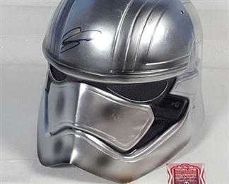 Toys Star Wars Captain Phasma Helmet Signed