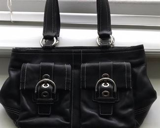 official Coach bag with number